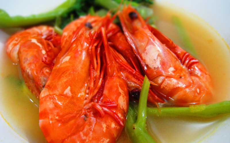 Filipino Food – Shrimp Sinigang (Sinigang na Hipon)
